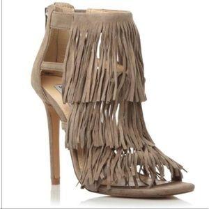 Fringly sandal heels by Steve Madden